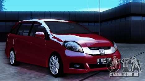 Honda Mobilio para GTA San Andreas