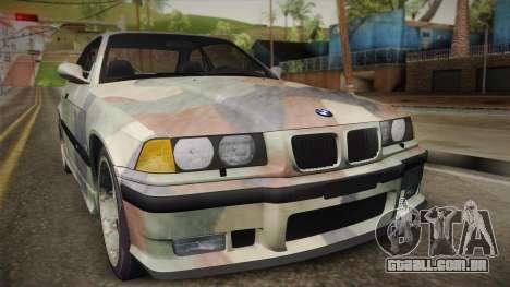 BMW M3 E36 TANK para GTA San Andreas