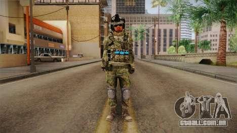 Multitarn Camo Soldier v1 para GTA San Andreas