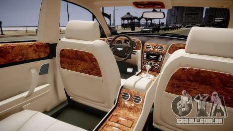 Bentley Continental Flying Spur 2010 para GTA 4