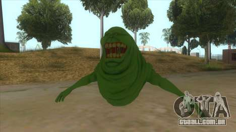 Slimer From Ghostbusters para GTA San Andreas