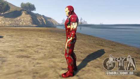 Iron Man Mark 46 para GTA 5