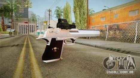 Desert Eagle com uma nova decoração para GTA San Andreas