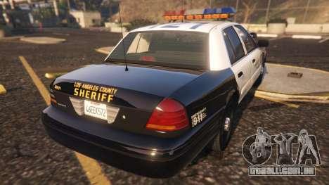 Ford Crown Victoria P71- LA Co. Sheriff 1999