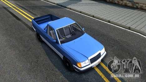 Mercedes-Benz W124 Pickup para GTA San Andreas