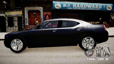 Dodge Charger Unmarked para GTA 4 esquerda vista