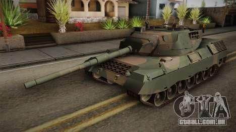 Leopard 1A5 Brazilian Army para GTA San Andreas