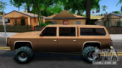 Military Off-road Rancher para GTA San Andreas