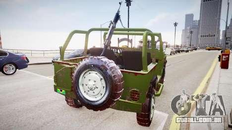Agrale Marrua EB110 para GTA 4