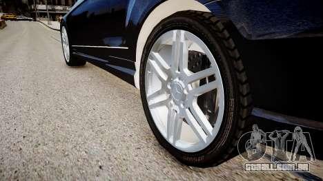 Mercedes-Benz E-class W207 para GTA 4