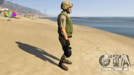 SAHP SWAT Ped Model 2.0.0 para GTA 5