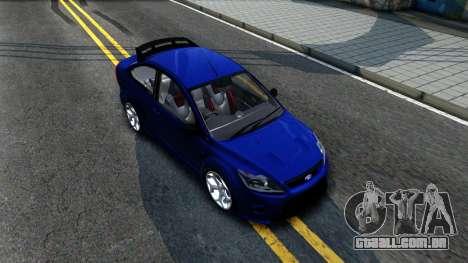 Ford Focus 2 Sedan RS Beta para GTA San Andreas