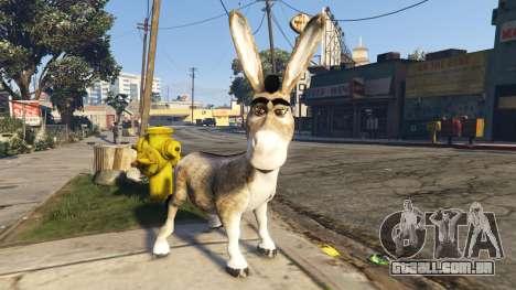 Donkey form Shrek para GTA 5