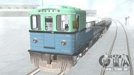 Vagão tipo, EMAG 81-502 0002 para GTA San Andreas