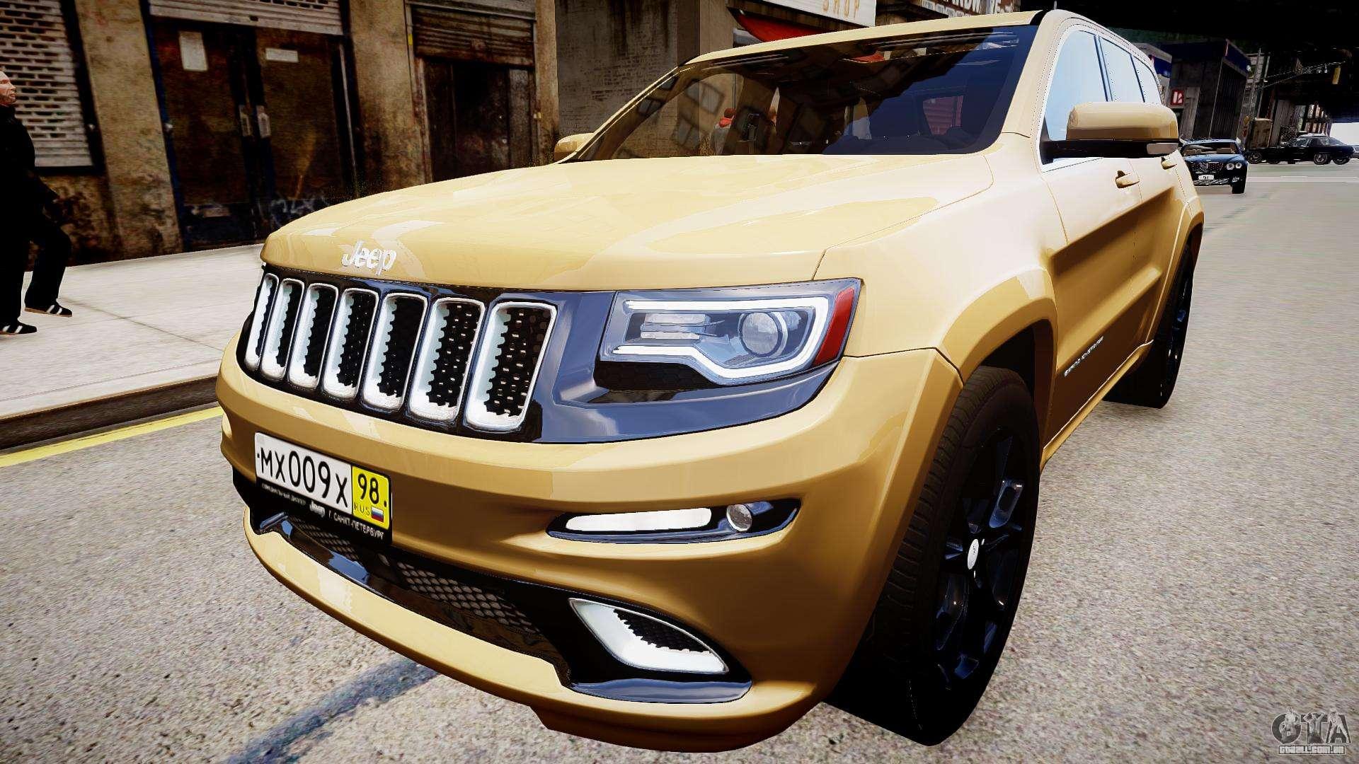 jeep grand cherokee srt8 2015 para gta 4. Black Bedroom Furniture Sets. Home Design Ideas