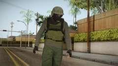GTA Online Military Skin Green-Verde para GTA San Andreas