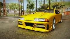 Elegy Taxi Sedan para GTA San Andreas
