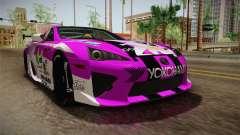 Lexus LFA Emilia The Purple of ReZero