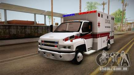 Chevrolet C4500 2008 Ambulance para GTA San Andreas
