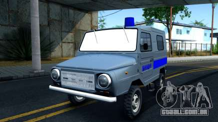 LuAZ 969М Polícia para GTA San Andreas
