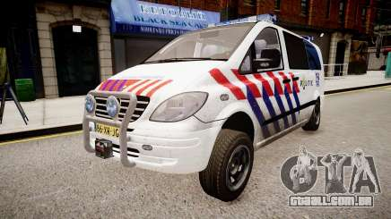 Mercedes-Benz Vito 115 CDI Dutch Police para GTA 4