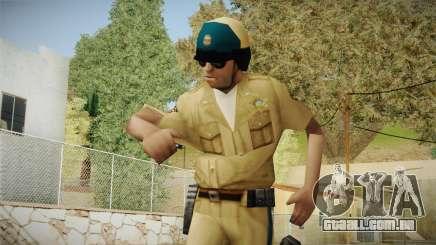 Novo POLICIAL de motocicleta para GTA San Andreas