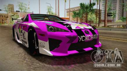 Lexus LFA Emilia The Purple of ReZero para GTA San Andreas