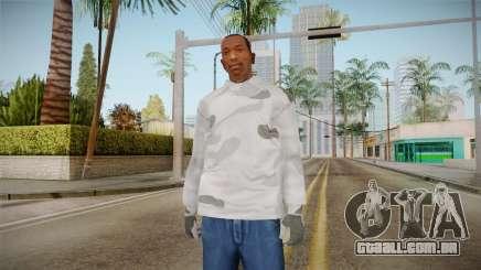Inverno hoodies para GTA San Andreas