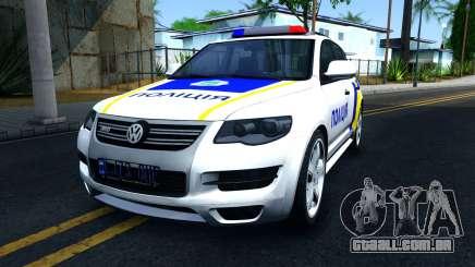Volkswagen Touareg Polícia Da Ucrânia para GTA San Andreas