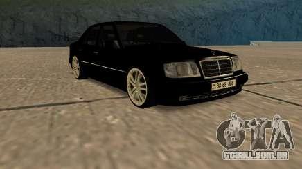 Mersedes-Benz E500 W124 Armenia para GTA San Andreas