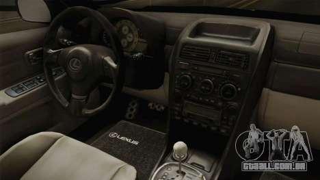 Lexus IS300 Rocket Bunny v2 para GTA San Andreas