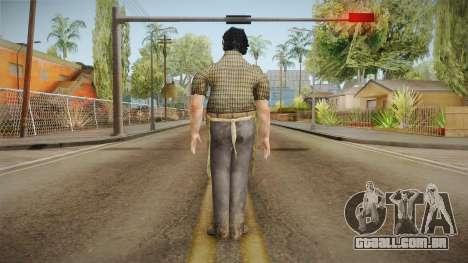 Mortal Kombat X - Leatherface Killer para GTA San Andreas
