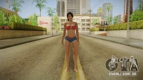 Dead Or Alive 5 LR - Momiji Hot Summer v1 para GTA San Andreas