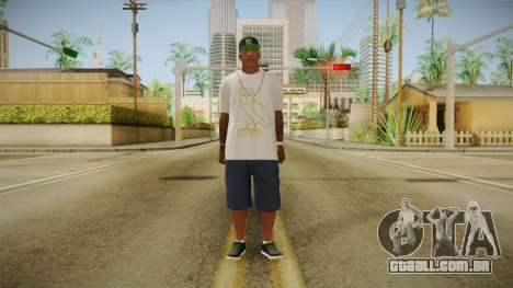 Franklin Ovoxo para GTA San Andreas segunda tela
