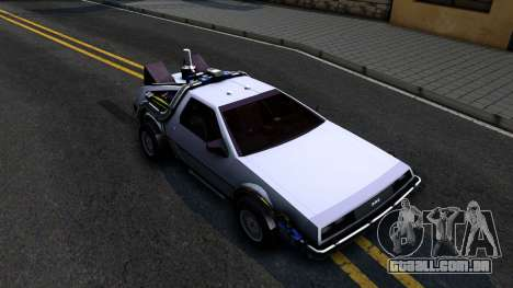 Delorean DMC-12 Time Machine para GTA San Andreas