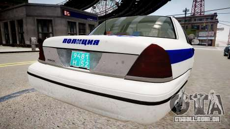 Ford Crown Victoria Police DPS para GTA 4