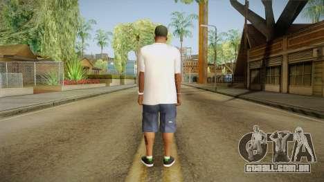 Franklin Ovoxo para GTA San Andreas terceira tela