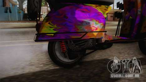 GTA 5 Pegassi Faggio Cool Tuning v1 para GTA San Andreas