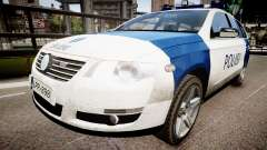 Finnish Police Volkswagen Passat (Poliisi)