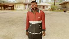 GTA 5 Franklin Jacket and Tracker Pant v1 para GTA San Andreas
