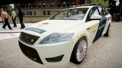 Hungarian Ford Police Car