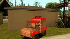 Wooden Toy Truck para GTA San Andreas