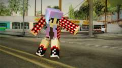 Minecraft Gamer Girl (Normal Maps) para GTA San Andreas