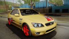 Lexus IS300 NFSMW05 PJ para GTA San Andreas