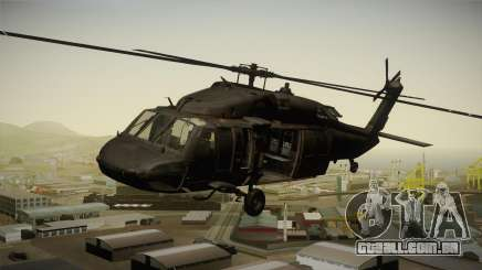 CoD 4: MW - UH-60 Blackhawk US Army Remastered para GTA San Andreas