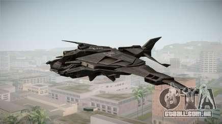 Batman Arkham Knight Batwing v1.0 para GTA San Andreas