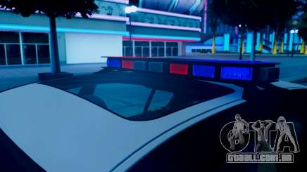 New police lights (For Modders) para GTA San Andreas