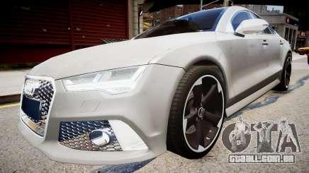 Audi RS7 2015 para GTA 4