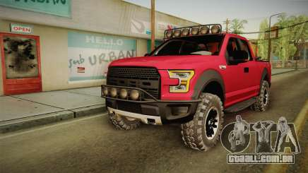 Ford F-150 Raptor 2017 Beta para GTA San Andreas