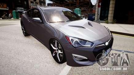 Hyundai Genesis Coupe13 ARAS para GTA 4